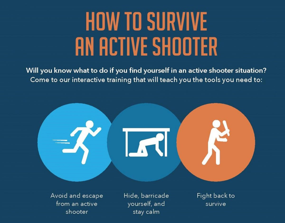 Free Training How To Survive An Active Shooter Jewish