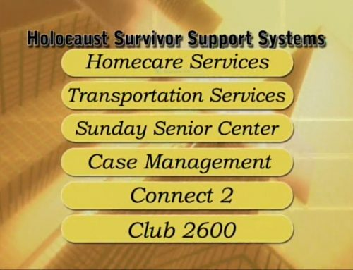 Holocaust Survivor Support Systems Video